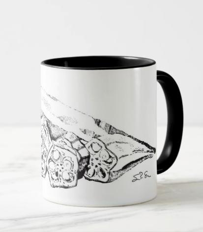 Black Okra: Mug