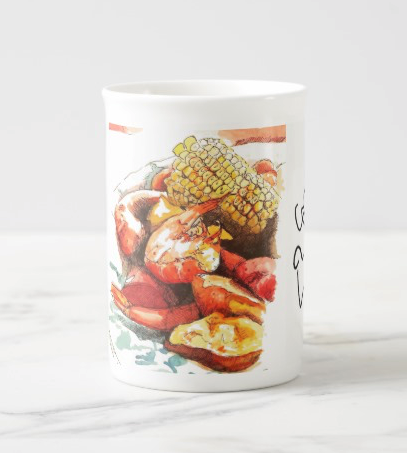 Frogmore Stew: Bone China Teacup