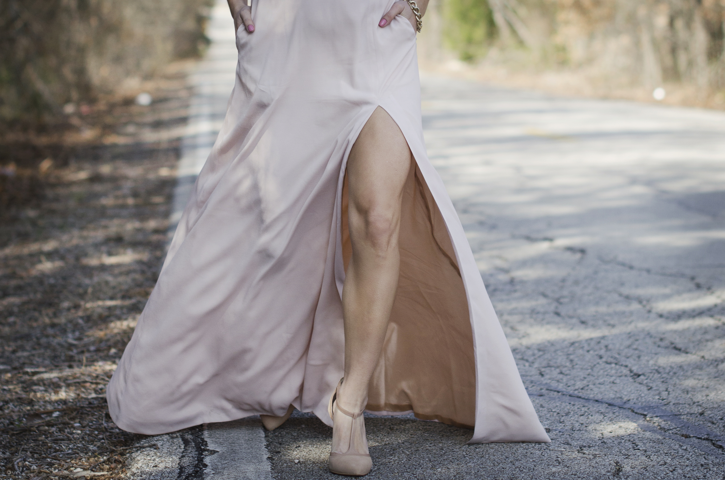 blush and nude