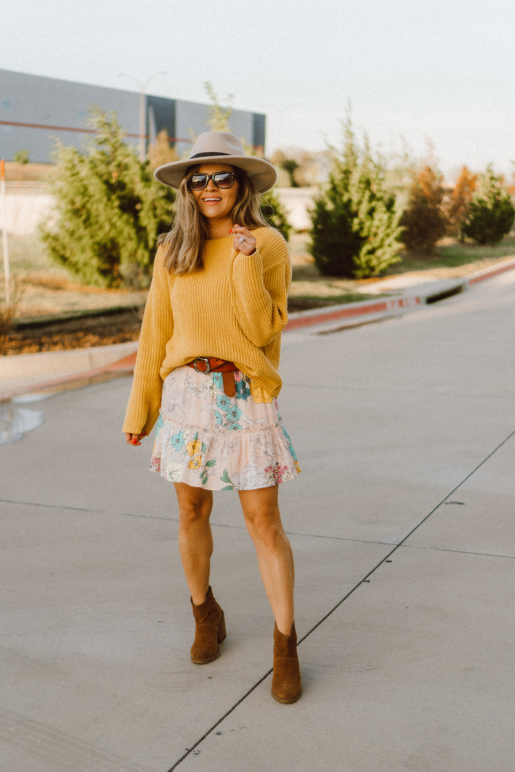 Sweaters + Skirts - for spring