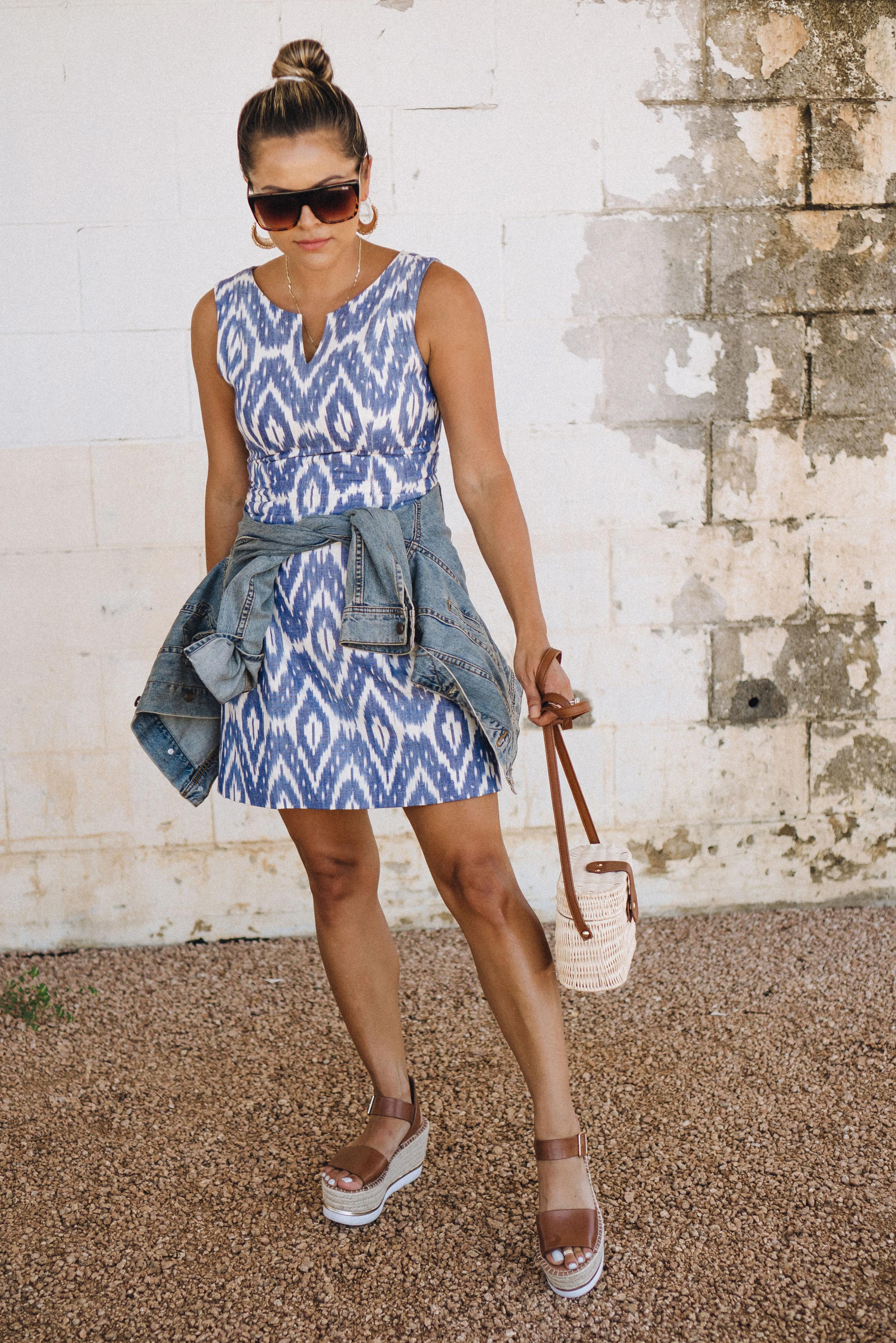 sic couture dress ikat
