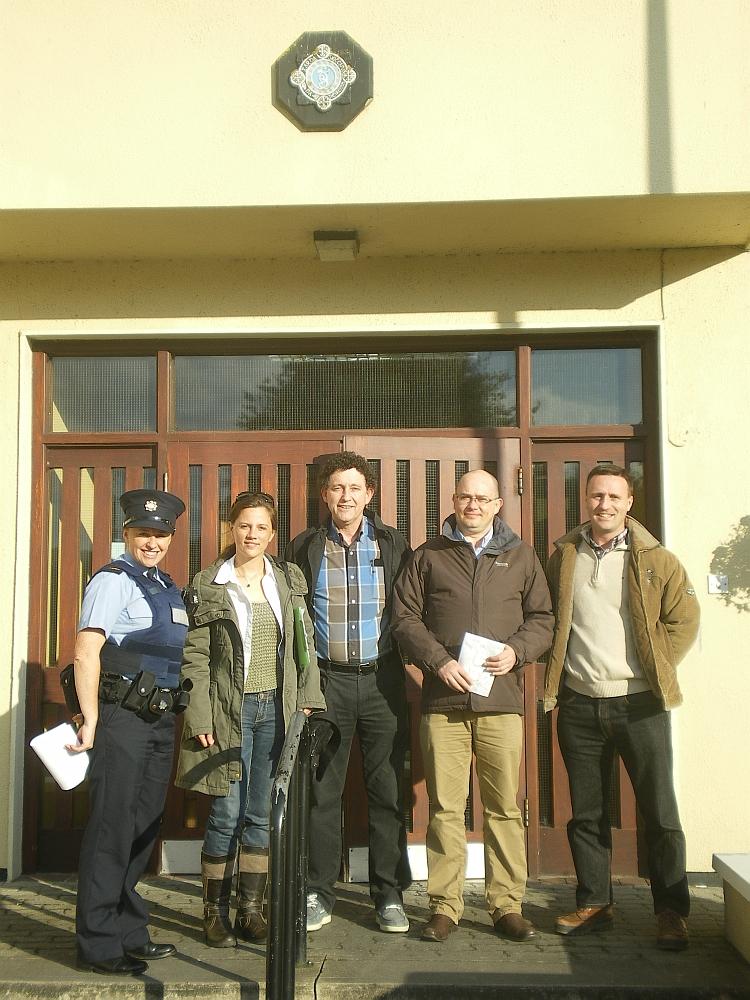 Overnight Self-Assessment Team, early eve, Ennis Garda Station.jpg