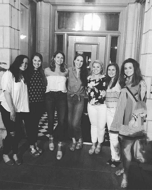 It's hard to describe how precious these women are to me (with a few more not pictured here). They have been the best of friends to me over these last few years. Not sure how I'll get along without them in FL, but thankful we aren't too far. Many girls beach trips ahead. Love y'all so! 💫