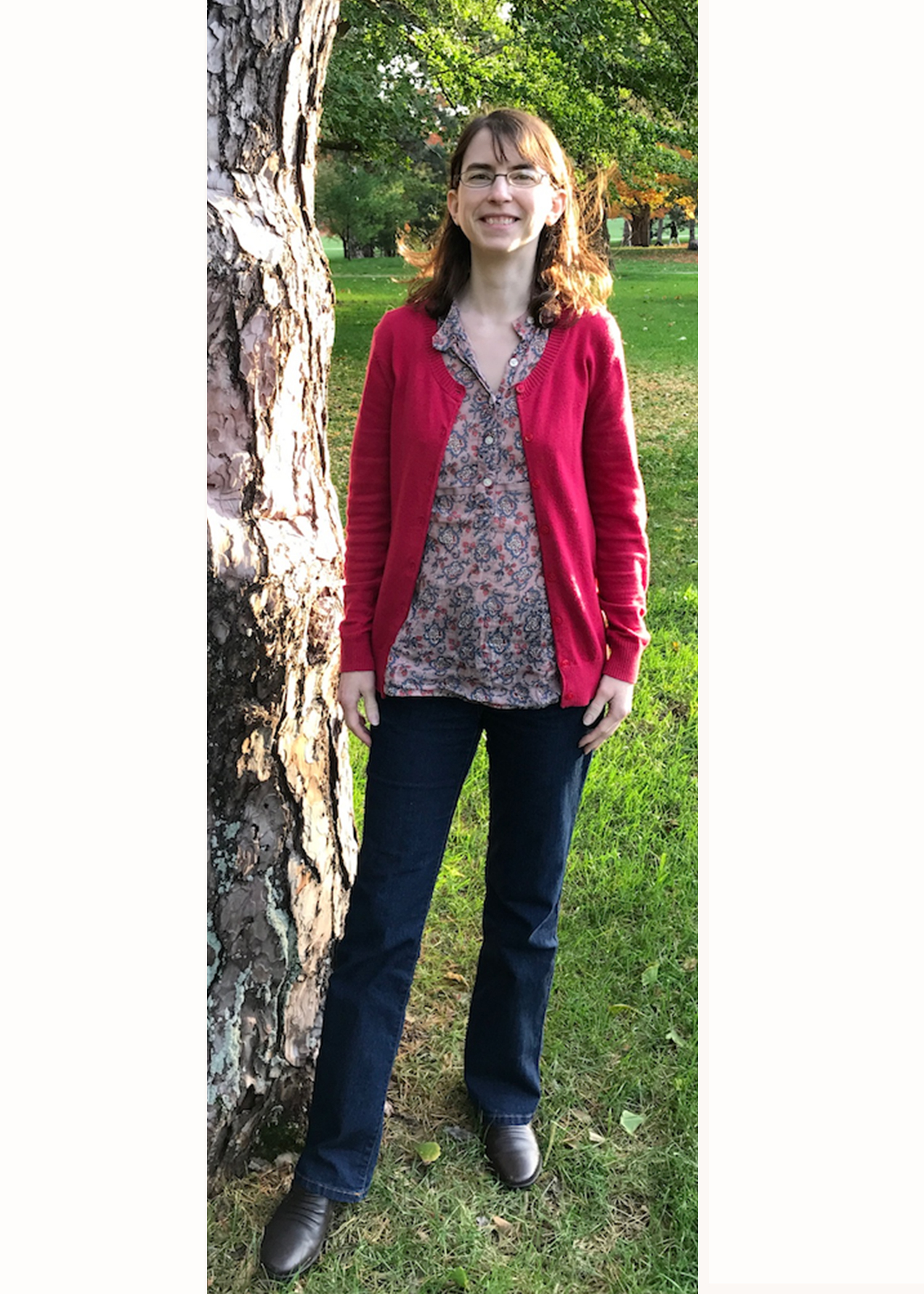 Erin French - PhD student in Apparel, Merchandising, and Design.