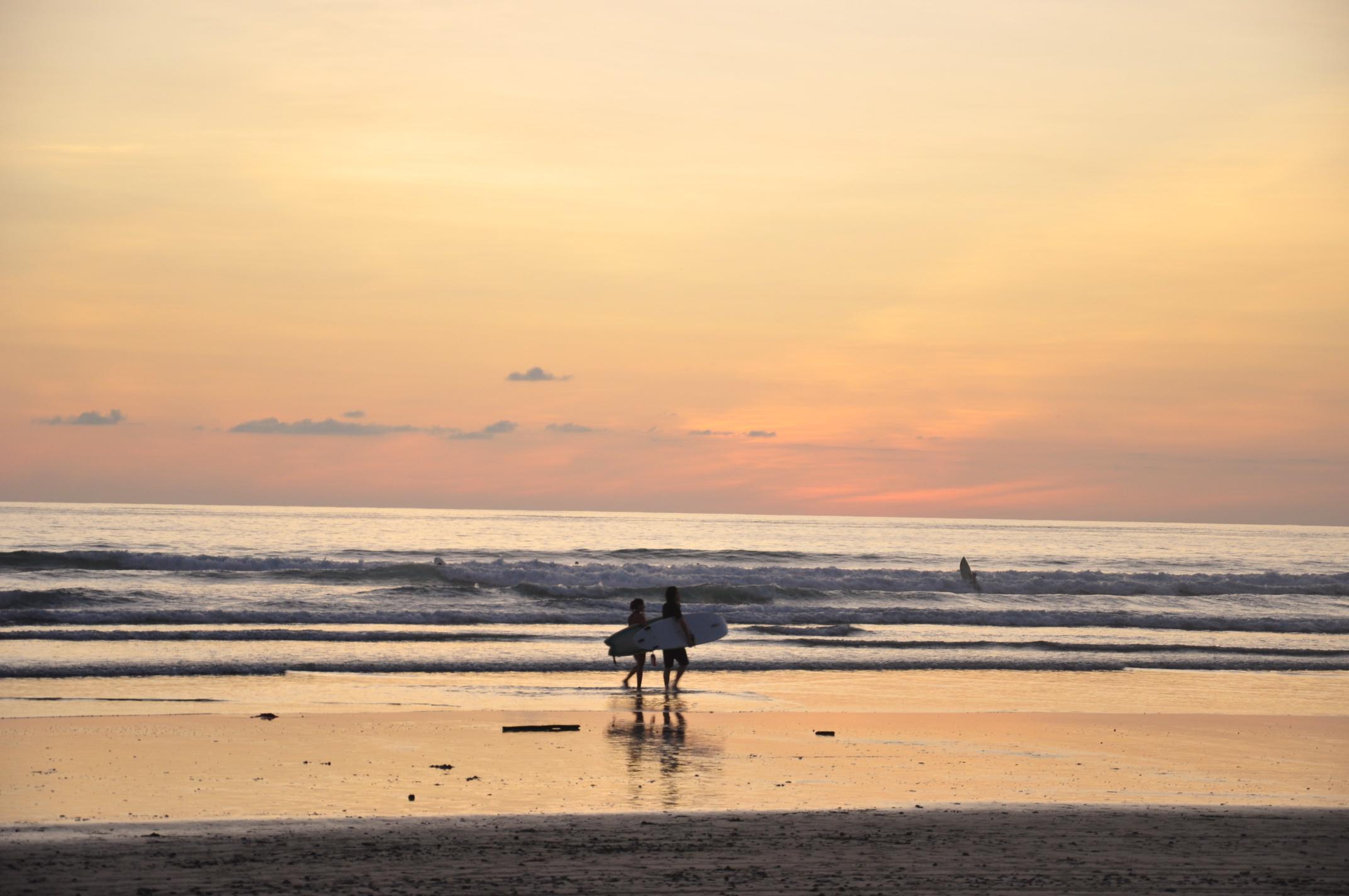Sunset at Playa Hermosa