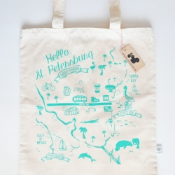MISS JOHNNY SQUIRREL TOTE