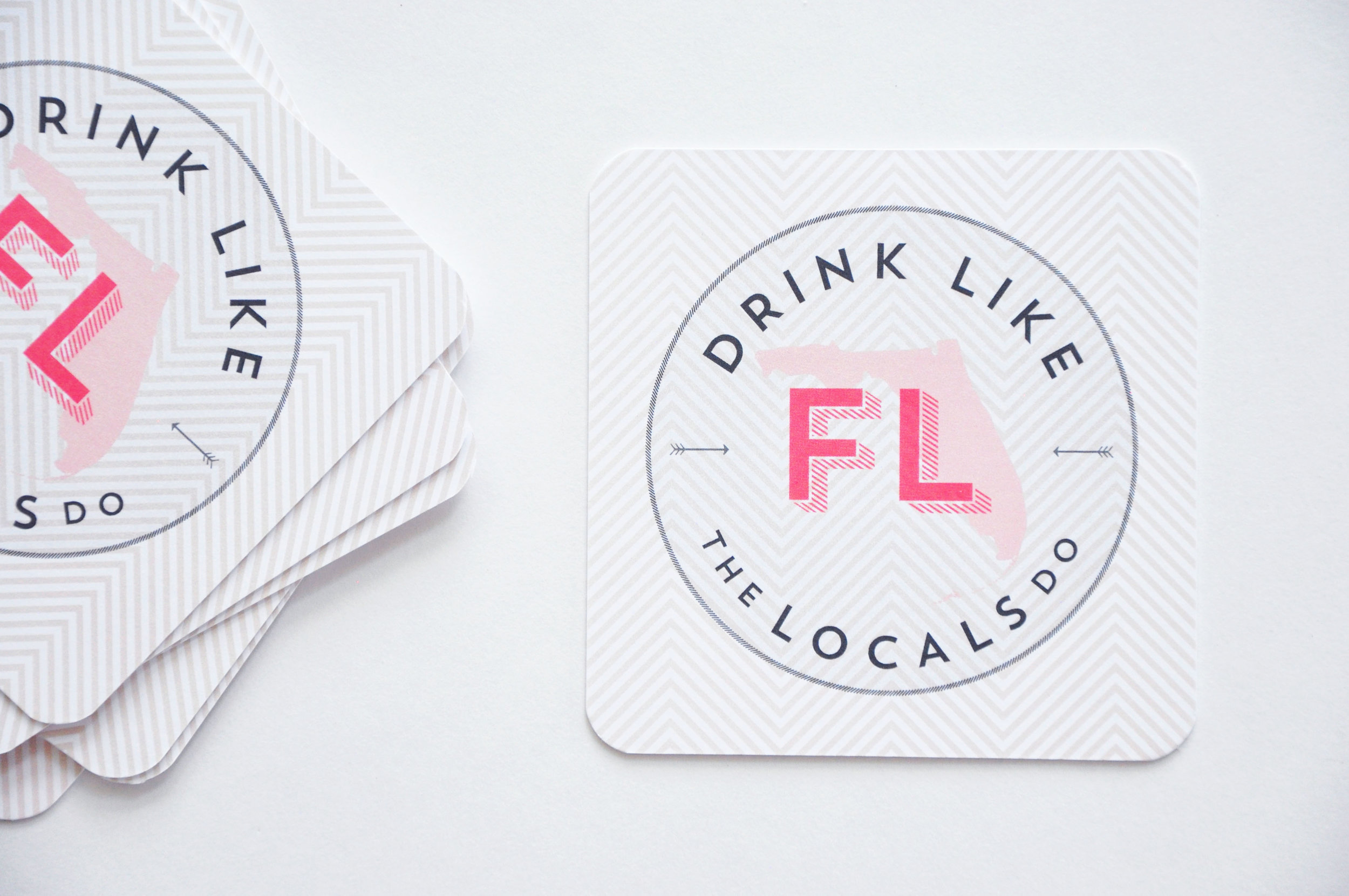 Drink like a local Coasters
