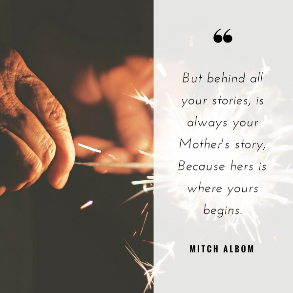 MOTHERS DAY QUOTE MITCH ALBOM