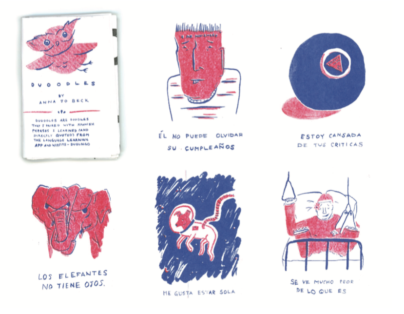 Self Published Zine (Duoodles)