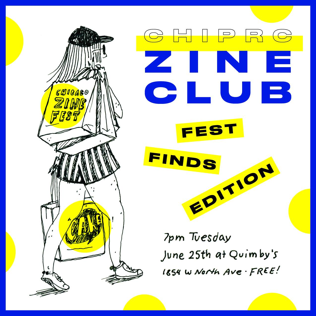 Zine Club Flyer