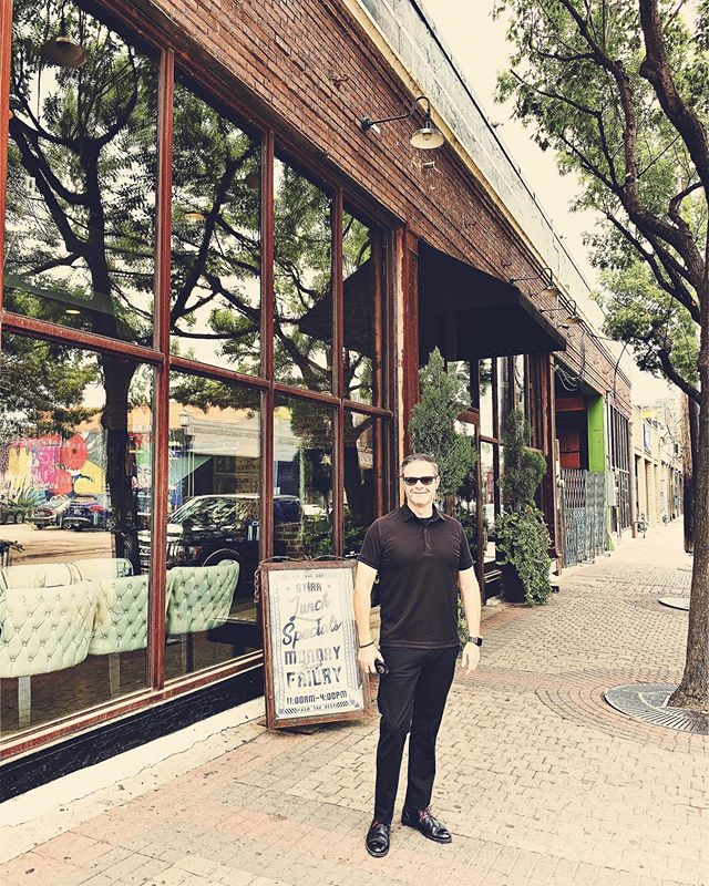 In front of the club I used to bounce at in Deep Ellum back in the early 90's. It's changed since but was a walk down the lane.  https://www.dmagazine.com/publications/d-magazine/2010/january/club-clearview-rocks-deep-ellum/
