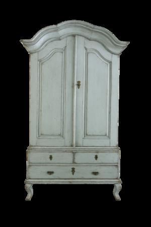 18th C Swedish Rococo Cabinet