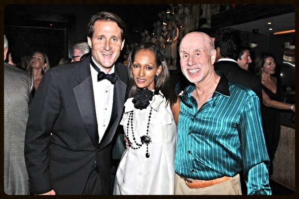 Ryan Wolfington with Advisory Board members Winnie and Bob Schulman