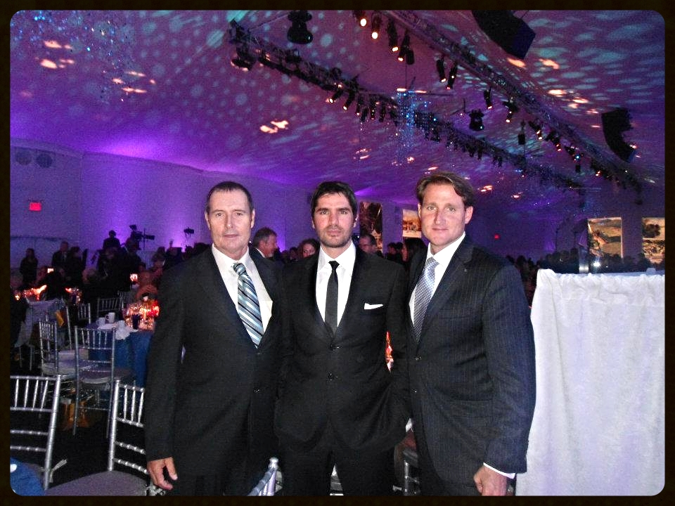 Co-founders Ryan Wolfington and Marty Hennessy with Advisory Board member Eduardo Verestagui