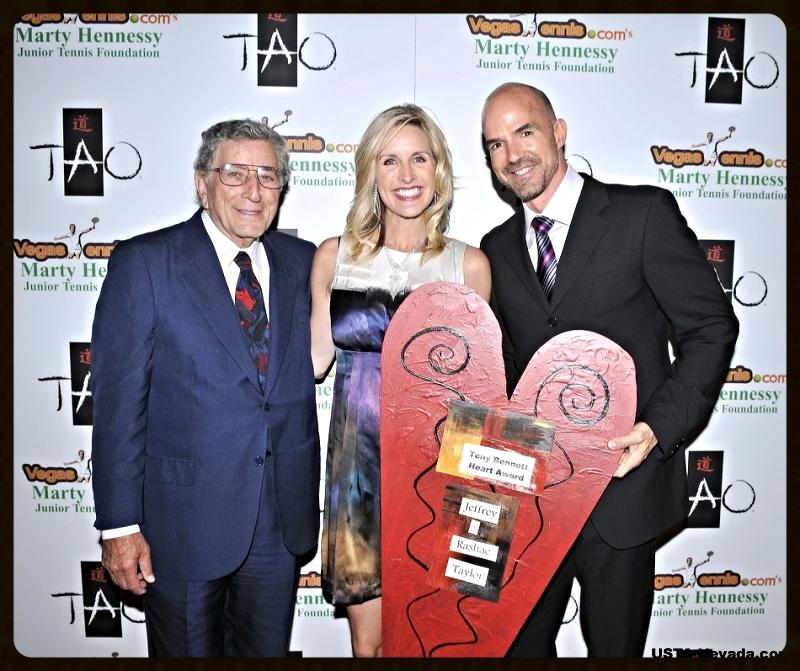 Advisory Board members Tony Bennett and Jeff and Rashae Taylor