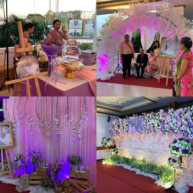 Large #wedding at Royal Thai Navy Academy. The welcome desk and #socialmedia setup #eventplanner #event #plan #planner #coordinator #schedule #pullittogether #look #feelings #party #logistics #corporateevents #private #flawless #funtimes #help