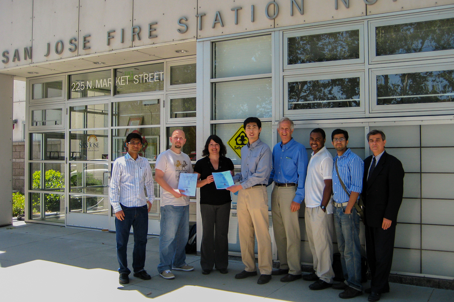 Presenting the complete feasibility analysis of installing solar water heaters on the city of San Jose's fire stations.