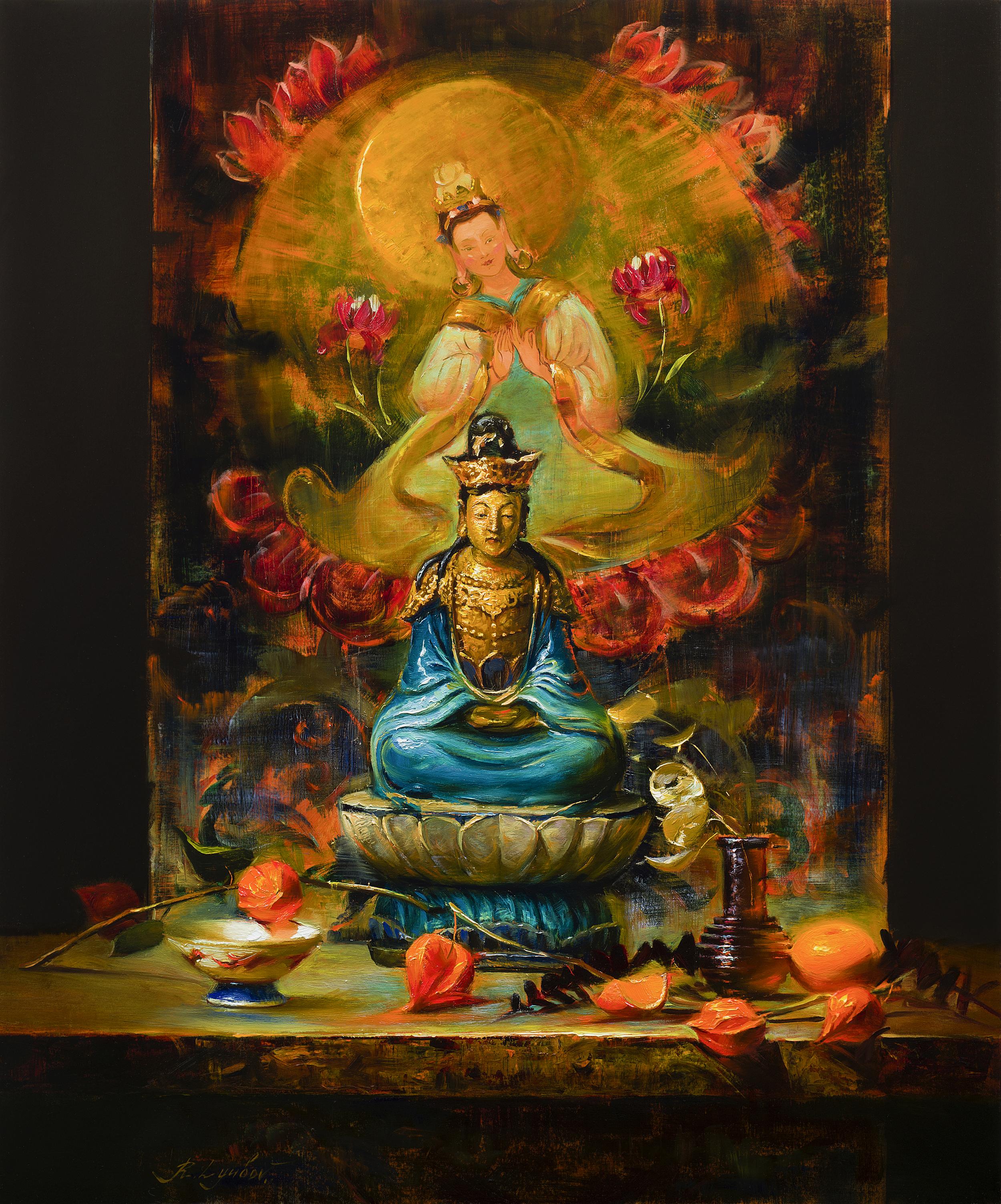 Loving Meditation 20x24