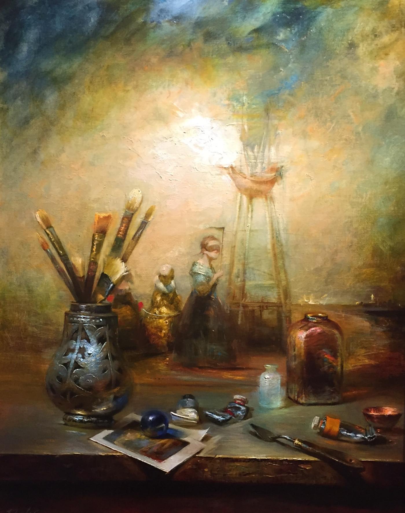 Painter's Inspiration (30x24)