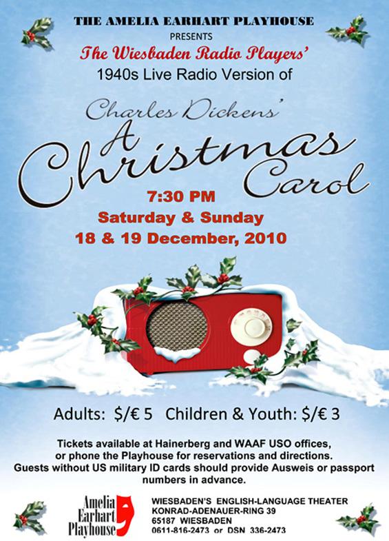 Kryptonite Radio Theater - A Christmas Carol