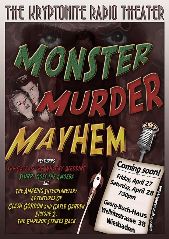 Kryptonite Radio Theater - Monster Murder Mayhem