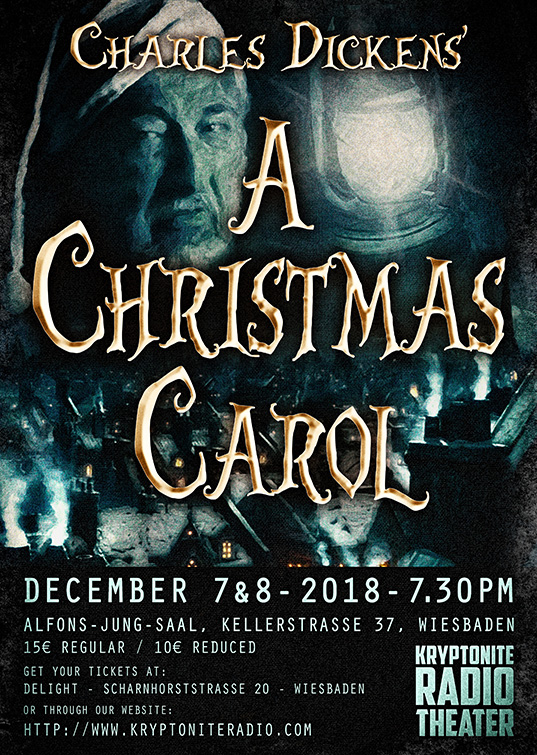 Kryptonite Radio Theater - A Christmas Carol