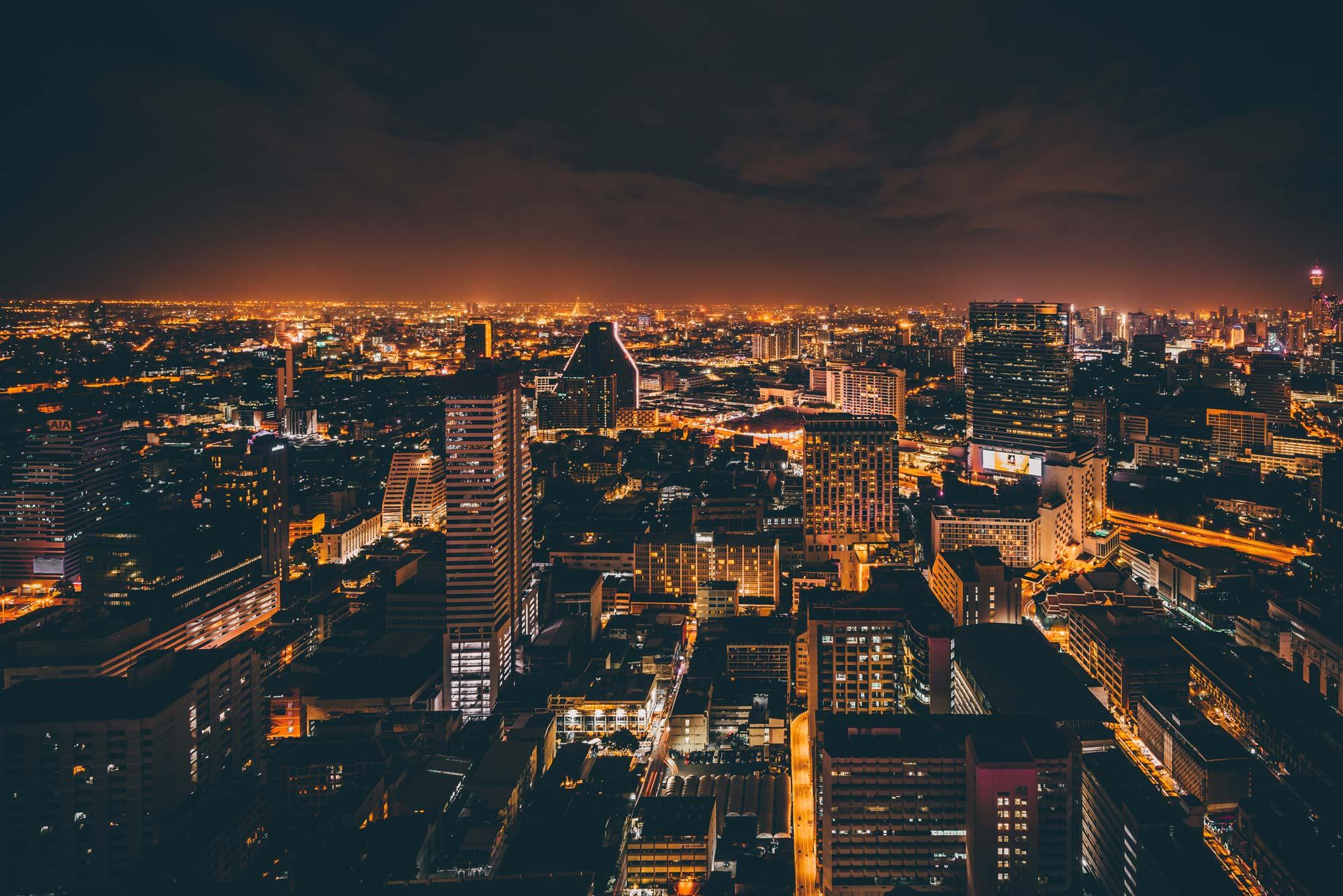 Bangkok Nightscape - A trip to explore the sleepless city of Bangkok