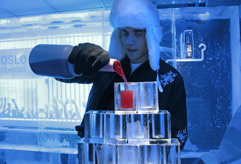 Ice Bar, Kristan IVs gate 12, Downtown Oslo