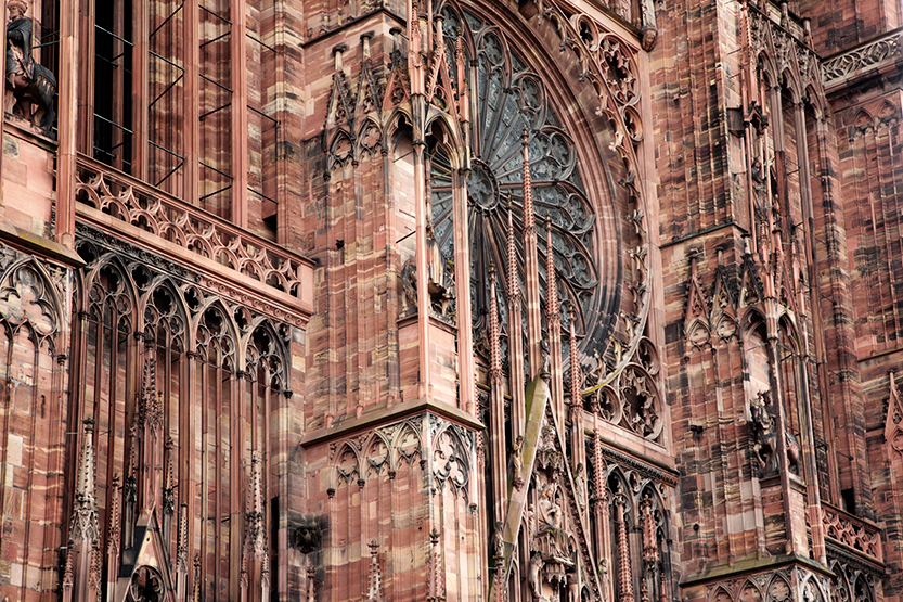 L'or de la cathédrale de Strasbourg