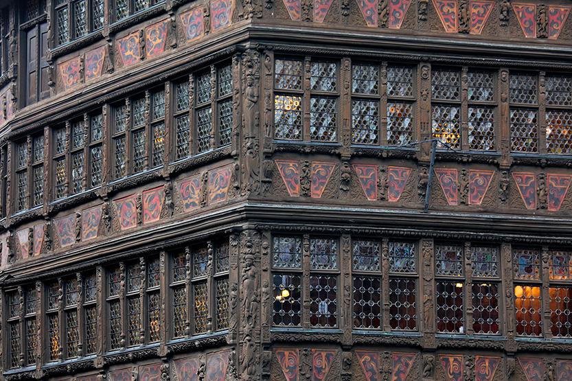 Maison Kammerzell (Renaissance) en face de la cathédrale, Strasbourg