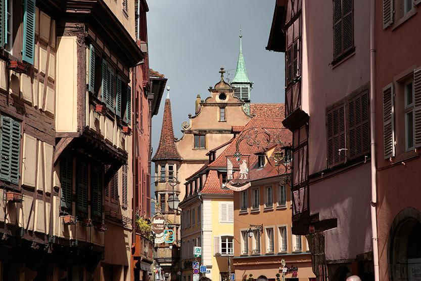 Centre piétonnier de Colmar