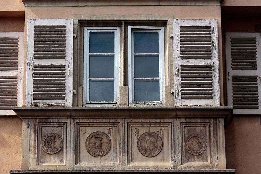 Detail d'architecture à Colmar