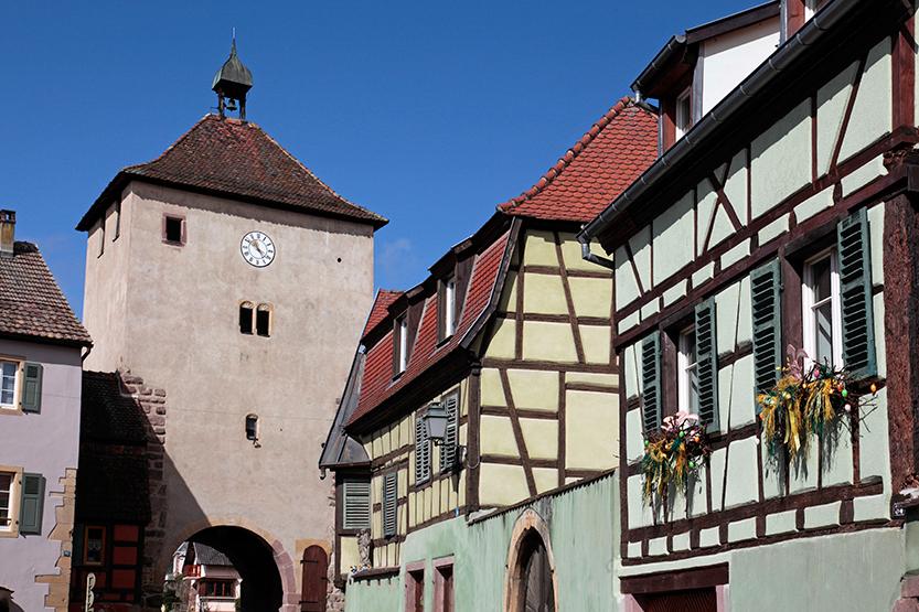 Porte de Munster (14e Siècle) à Turckheim