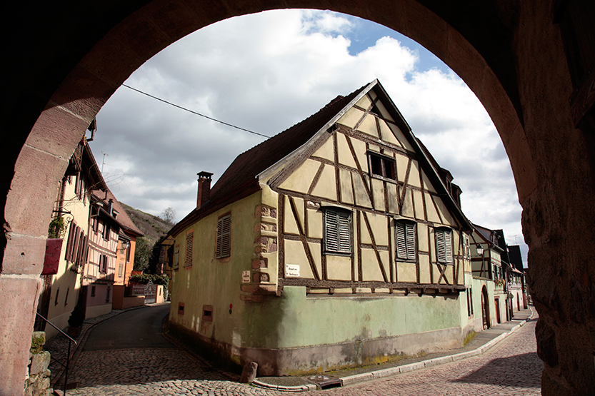 Turckheim vu de la Porte de Munster