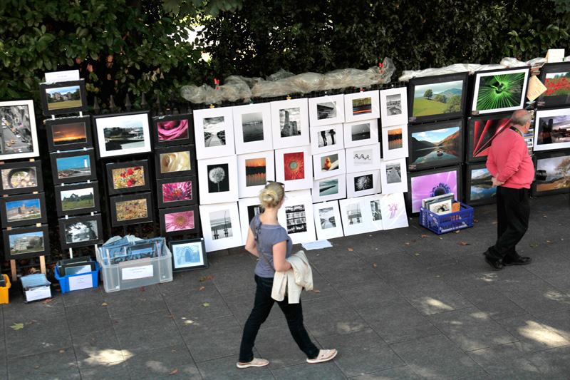 Artist Market à St Stepehn Park