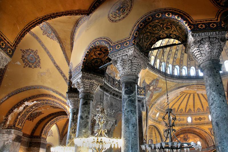 Sainte-Sophie, la magie byzantine