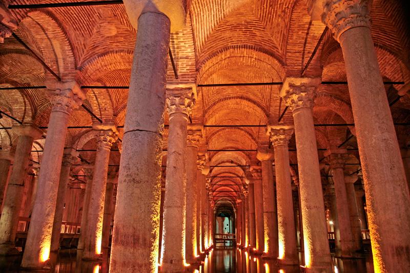 Basilique Citerne de Byzance
