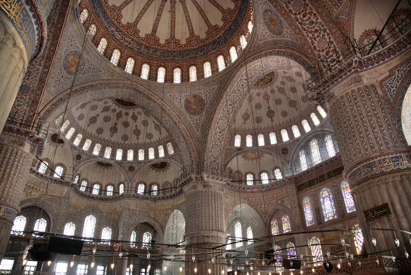 La majeste de la mosquee bleue