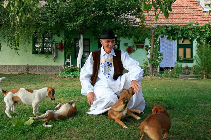 A la ferme Perkov Salas