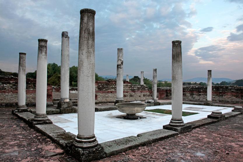 Palais romain de Felix Romuliana