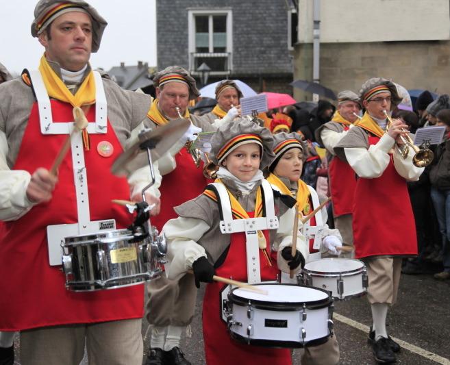 Fanfare des Bruegheliens (symbole de la Belgique)