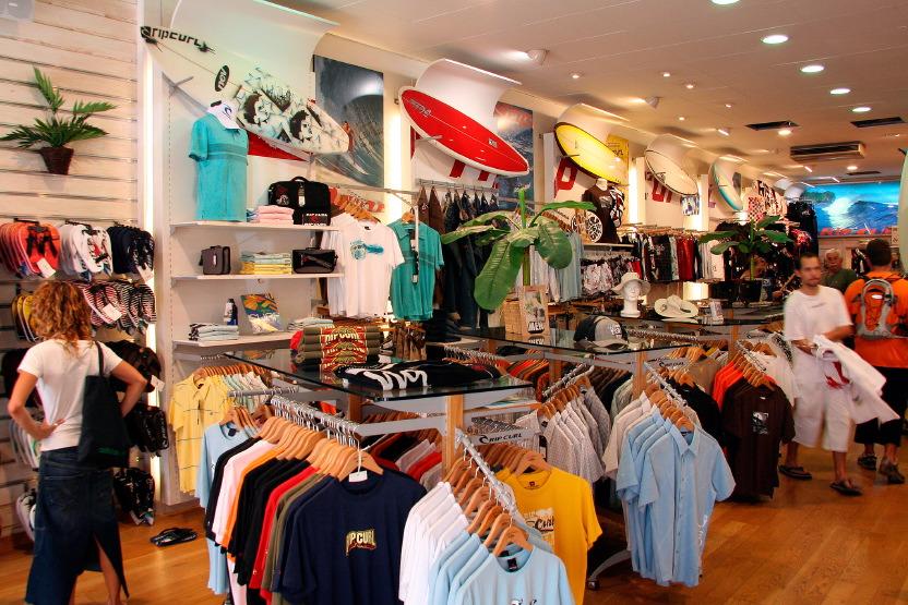 Les affolantes boutiques d'Hossegor