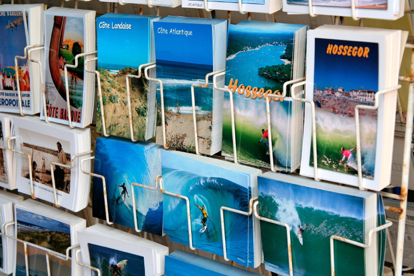 Hossegor postcards
