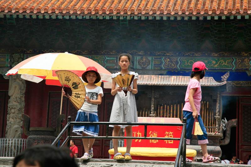 Au temple de Confucius