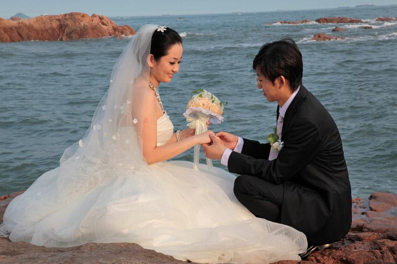 Qindgao, la destination des honeymooners