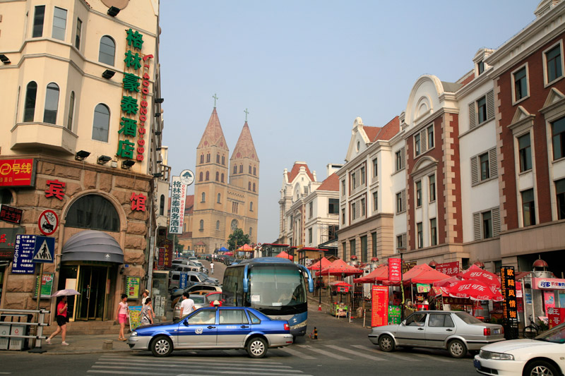 Qindao, la vieille ville