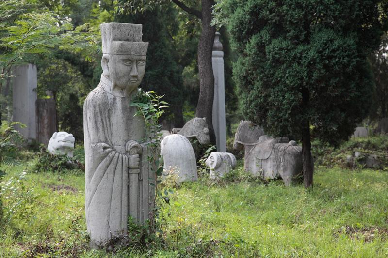 L'immense cimetière de Qufu