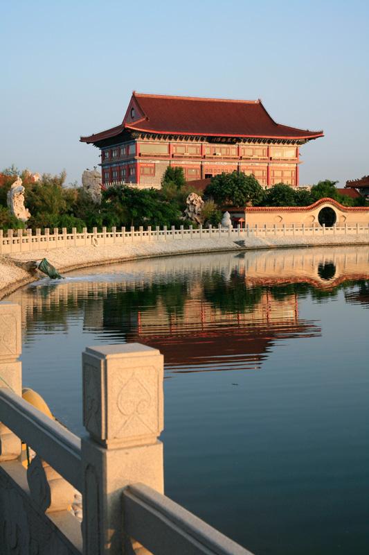 Penglai, le nouveau temple des 8 immortels