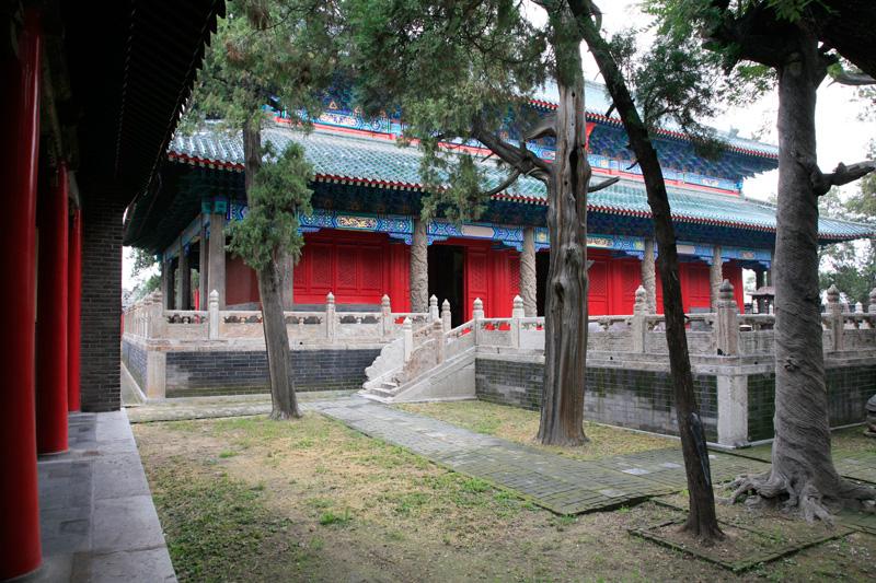 Le temple Yan, Qufu