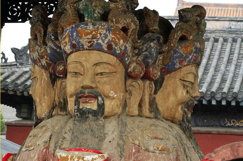 A la sortie du Temple de Tai'an